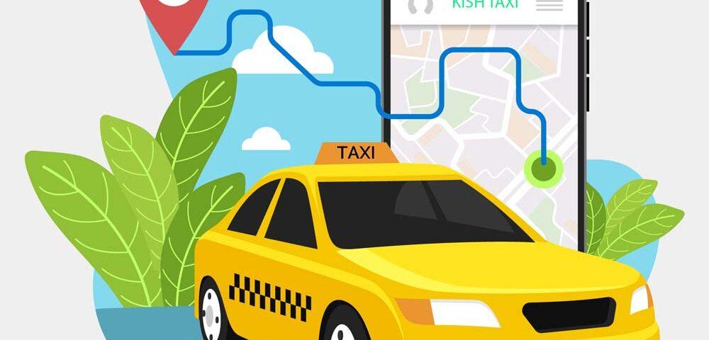 نرخ تاکسی در کیش