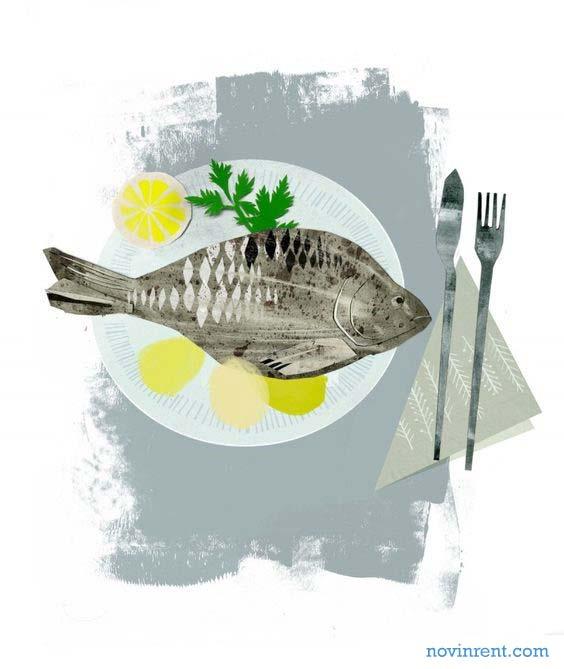 غذاهای دریایی کیش